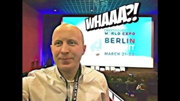 Review Of Cryptocurrency WorldEXPO Conference in Berlin + Interviews with TOP 3 ICOs