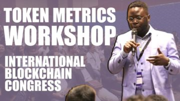 Token Metrics Workshop at International Blockchain Congress | Hyderabad, India