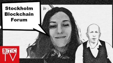 Stockholm Blockchain Forum   Interview with Carla Maree Vella   BTCTV