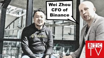 Binance CFO Wei Zhou | Exclusive Interview | BTCTV