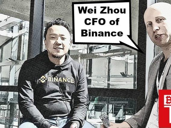 Binance CFO Wei Zhou   Exclusive Interview   BTCTV