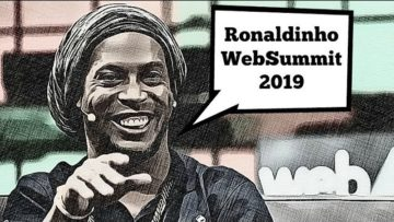 Ronaldinho EXCLUSIVE Media Interview On WebSummit 2019 | Teqball and Sqiller App | BTCTV